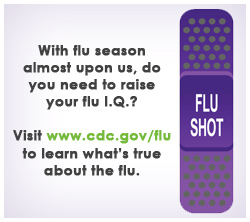 Corizon Health Reminds you to raise your Flu I.Q.